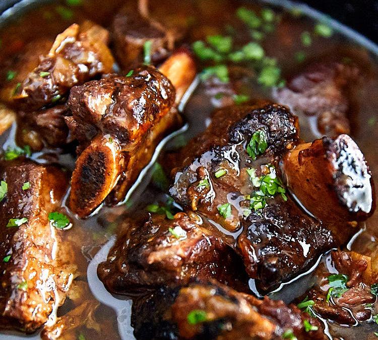 Slow Cooker Beef Short Ribs (GF)
